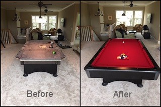 expert pool table recovering in Parkersburg content img3